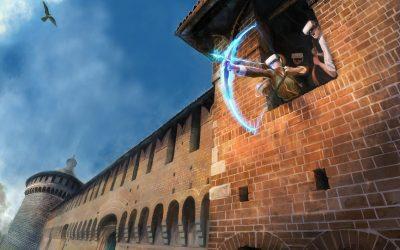 Realtà virtuale interattiva al Castello Sforzesco di Milano