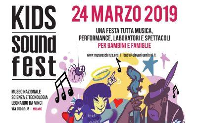 Ritorna il Kids Sound Fest al Museo della Scienza e della Tecnologia di Milano