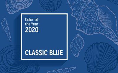 Pantone Color Institute decreta il colore dell'anno 2020: Classic Blue
