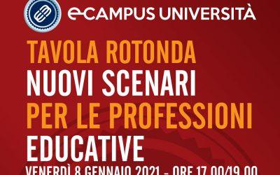 Tavola Rotonda: Nuovi scenari per le professioni educative
