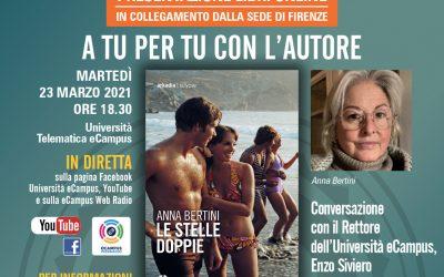 Webinar sulla presentazione del libro 'Le stelle doppie' di Anna Bertini