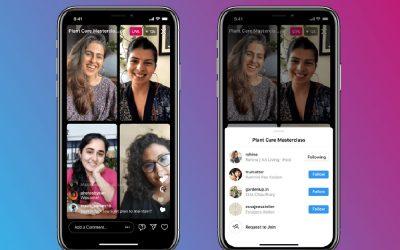 """Instagram: una stanza """"virtuale"""" per 4 persone"""