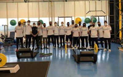 """Gli studenti del Master di I° livello in """"Teoria e Metodologia dell'allenamento nel calcio"""" ospiti dell'Hellas Verona"""